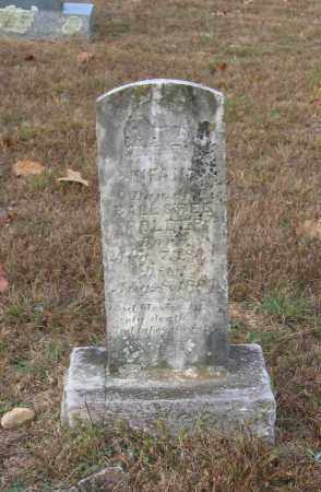 HOLDER, INFANT DAUGHTER - Lawrence County, Arkansas | INFANT DAUGHTER HOLDER - Arkansas Gravestone Photos