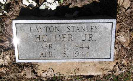 HOLDER, JR., LAYTON STANLEY - Lawrence County, Arkansas | LAYTON STANLEY HOLDER, JR. - Arkansas Gravestone Photos