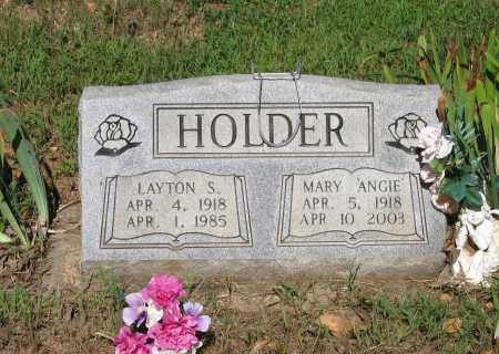 "GUILLIAMS HOLDER, MARY ANGELINE ""ANGIE"" - Lawrence County, Arkansas 