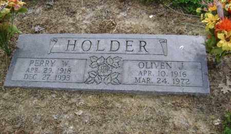 HOLDER, OLIVEN J. - Lawrence County, Arkansas | OLIVEN J. HOLDER - Arkansas Gravestone Photos