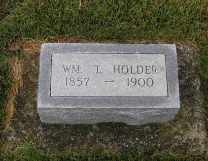 HOLDER, WILLIAM THOMAS - Lawrence County, Arkansas | WILLIAM THOMAS HOLDER - Arkansas Gravestone Photos