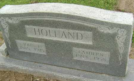 HOLLAND, CATHERN - Lawrence County, Arkansas | CATHERN HOLLAND - Arkansas Gravestone Photos
