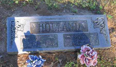 HOLLAND, NORA - Lawrence County, Arkansas | NORA HOLLAND - Arkansas Gravestone Photos