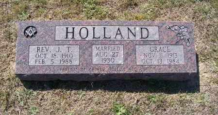 "HOLLAND, REV., JEWELL T. ""J. T."" - Lawrence County, Arkansas 