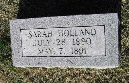 HOLLAND, SARAH - Lawrence County, Arkansas | SARAH HOLLAND - Arkansas Gravestone Photos