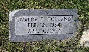 HOLLAND, UVALDA C. - Lawrence County, Arkansas | UVALDA C. HOLLAND - Arkansas Gravestone Photos