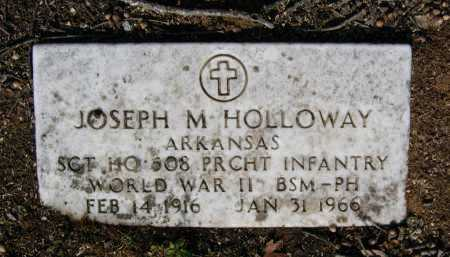 HOLLOWAY (VETERAN WWII), JOSEPH MAGNESS - Lawrence County, Arkansas | JOSEPH MAGNESS HOLLOWAY (VETERAN WWII) - Arkansas Gravestone Photos