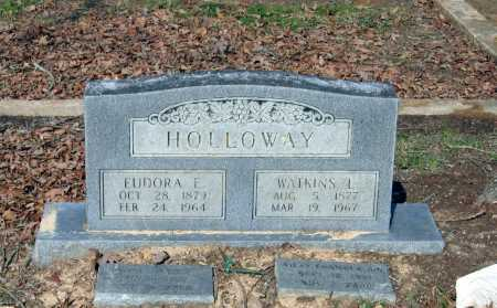 HOLLOWAY, EUDORA ETTA - Lawrence County, Arkansas | EUDORA ETTA HOLLOWAY - Arkansas Gravestone Photos