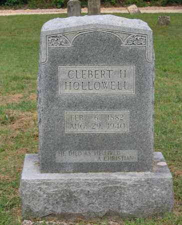 HOLLOWELL, CLEBERT H. - Lawrence County, Arkansas | CLEBERT H. HOLLOWELL - Arkansas Gravestone Photos