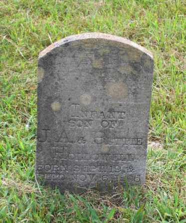HOLLOWELL, INFANT SON - Lawrence County, Arkansas | INFANT SON HOLLOWELL - Arkansas Gravestone Photos