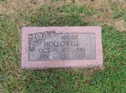"HOLLOWELL, LILLIE MAUDE ""MAUDIE"" - Lawrence County, Arkansas 