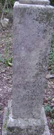 HOLMES, CLARA FLOE - Lawrence County, Arkansas   CLARA FLOE HOLMES - Arkansas Gravestone Photos