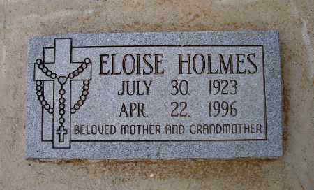 HOLMES, ELOISE - Lawrence County, Arkansas | ELOISE HOLMES - Arkansas Gravestone Photos