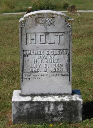SLOAN HOLT, AMANDA C. - Lawrence County, Arkansas | AMANDA C. SLOAN HOLT - Arkansas Gravestone Photos