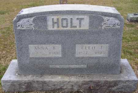 RUDY HOLT, ANNA BELLE - Lawrence County, Arkansas | ANNA BELLE RUDY HOLT - Arkansas Gravestone Photos