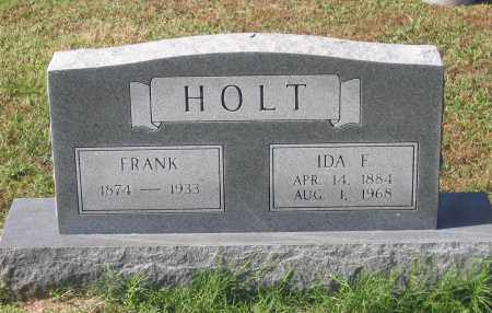HOLT, IDA FRANCES - Lawrence County, Arkansas | IDA FRANCES HOLT - Arkansas Gravestone Photos