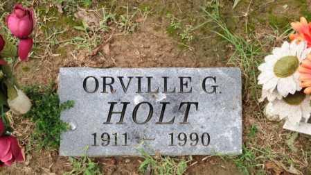HOLT, ORVILLE G. - Lawrence County, Arkansas   ORVILLE G. HOLT - Arkansas Gravestone Photos