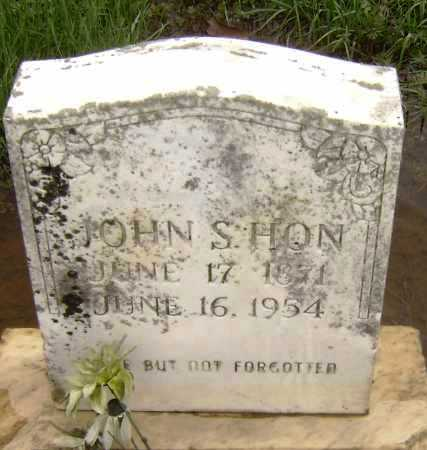 HON, JOHN S. - Lawrence County, Arkansas | JOHN S. HON - Arkansas Gravestone Photos