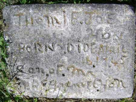 HON, THOMIE JOE - Lawrence County, Arkansas   THOMIE JOE HON - Arkansas Gravestone Photos