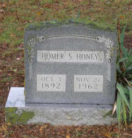 HONEY, HOMER S. - Lawrence County, Arkansas   HOMER S. HONEY - Arkansas Gravestone Photos