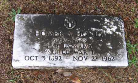 HONEY (VETERAN WWI), HOMER S - Lawrence County, Arkansas | HOMER S HONEY (VETERAN WWI) - Arkansas Gravestone Photos