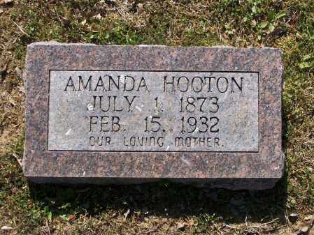 HOOTEN, AMANDA ALICE - Lawrence County, Arkansas | AMANDA ALICE HOOTEN - Arkansas Gravestone Photos
