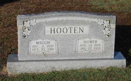 MORGAN HOOTEN, MAGGIE CLEVELAND - Lawrence County, Arkansas | MAGGIE CLEVELAND MORGAN HOOTEN - Arkansas Gravestone Photos