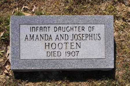 HOOTEN, INFANT DAUGHTER - Lawrence County, Arkansas | INFANT DAUGHTER HOOTEN - Arkansas Gravestone Photos