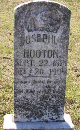 HOOTEN, JOSEPHUS R. - Lawrence County, Arkansas | JOSEPHUS R. HOOTEN - Arkansas Gravestone Photos
