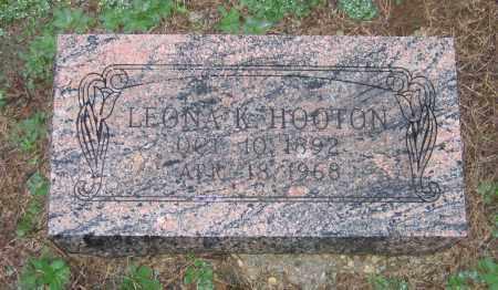 HOOTEN, LEONA KATHERINE - Lawrence County, Arkansas | LEONA KATHERINE HOOTEN - Arkansas Gravestone Photos