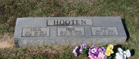 HOOTEN, CELIA BELL - Lawrence County, Arkansas | CELIA BELL HOOTEN - Arkansas Gravestone Photos