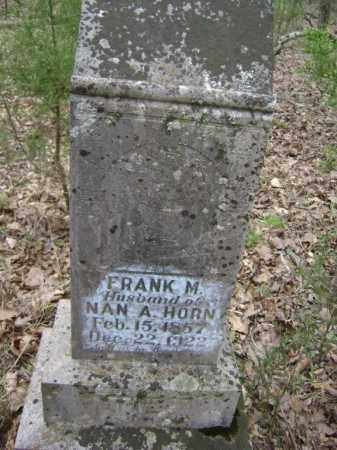 "HORN, FRANCIS M. ""FRANK"" - Lawrence County, Arkansas 
