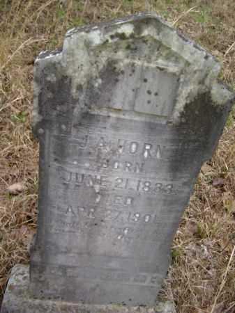 "HORN (VETERAN CSA), JESSE A. ""J. A."" - Lawrence County, Arkansas | JESSE A. ""J. A."" HORN (VETERAN CSA) - Arkansas Gravestone Photos"