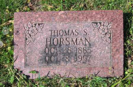 HORSMAN, THOMAS SPURLIN - Lawrence County, Arkansas | THOMAS SPURLIN HORSMAN - Arkansas Gravestone Photos
