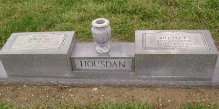 HOUSDAN, BILL (R. E.) - Lawrence County, Arkansas | BILL (R. E.) HOUSDAN - Arkansas Gravestone Photos