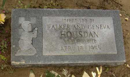 HOUSDAN, INFANT SON - Lawrence County, Arkansas | INFANT SON HOUSDAN - Arkansas Gravestone Photos
