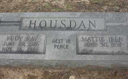 HOUSDAN, RUDY RAY - Lawrence County, Arkansas | RUDY RAY HOUSDAN - Arkansas Gravestone Photos