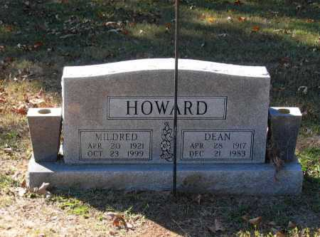 HOWARD, DEAN MELTON - Lawrence County, Arkansas | DEAN MELTON HOWARD - Arkansas Gravestone Photos
