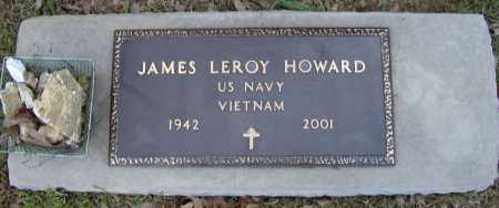 HOWARD (VETERAN VIET), JAMES LEROY - Lawrence County, Arkansas | JAMES LEROY HOWARD (VETERAN VIET) - Arkansas Gravestone Photos