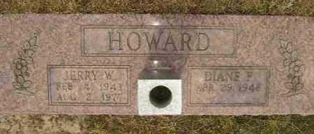 HOWARD, JERRY W, - Lawrence County, Arkansas | JERRY W, HOWARD - Arkansas Gravestone Photos