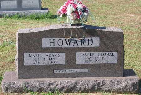 ADAMS HOWARD, MARIE - Lawrence County, Arkansas | MARIE ADAMS HOWARD - Arkansas Gravestone Photos