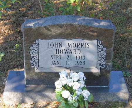 HOWARD, JOHN MORRIS - Lawrence County, Arkansas | JOHN MORRIS HOWARD - Arkansas Gravestone Photos