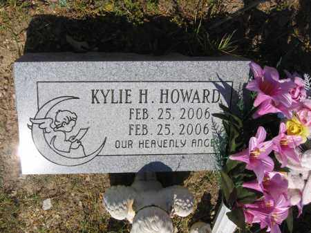 HOWARD, KYLIE H. - Lawrence County, Arkansas | KYLIE H. HOWARD - Arkansas Gravestone Photos