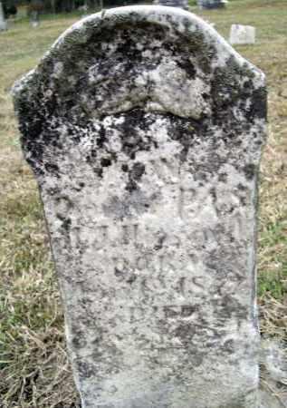 HOWARD, MARY W. - Lawrence County, Arkansas | MARY W. HOWARD - Arkansas Gravestone Photos