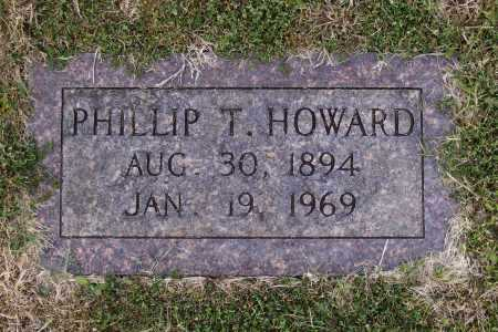 HOWARD, PHILLIP TAYLOR - Lawrence County, Arkansas | PHILLIP TAYLOR HOWARD - Arkansas Gravestone Photos