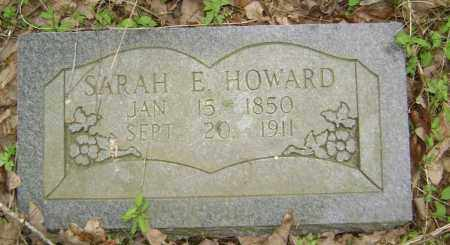 MCLAUGHLIN HOWARD, SARAH E. L. - Lawrence County, Arkansas | SARAH E. L. MCLAUGHLIN HOWARD - Arkansas Gravestone Photos