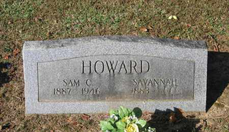 HOWARD, SAVANNAH - Lawrence County, Arkansas | SAVANNAH HOWARD - Arkansas Gravestone Photos