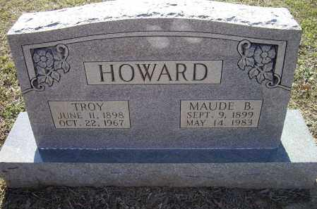 ROBINS HOWARD, MAUDE B. - Lawrence County, Arkansas | MAUDE B. ROBINS HOWARD - Arkansas Gravestone Photos