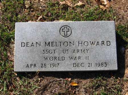 HOWARD (VETERAN WWII), DEAN MELTON - Lawrence County, Arkansas | DEAN MELTON HOWARD (VETERAN WWII) - Arkansas Gravestone Photos