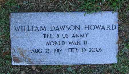 HOWARD (VETERAN WWII), WILLIAM DAWSON - Lawrence County, Arkansas | WILLIAM DAWSON HOWARD (VETERAN WWII) - Arkansas Gravestone Photos